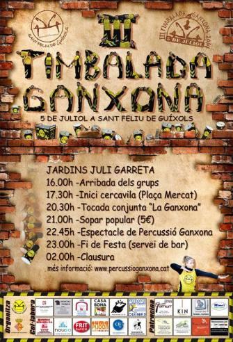 III Timbalada Ganxona