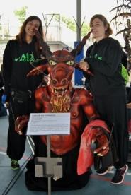 1a Mostra Bestiari Benèfica - 10 anys del Front Diabòlic de La Garriga