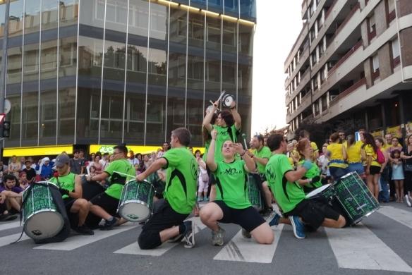 Batucada Festa Major Terrassa width=